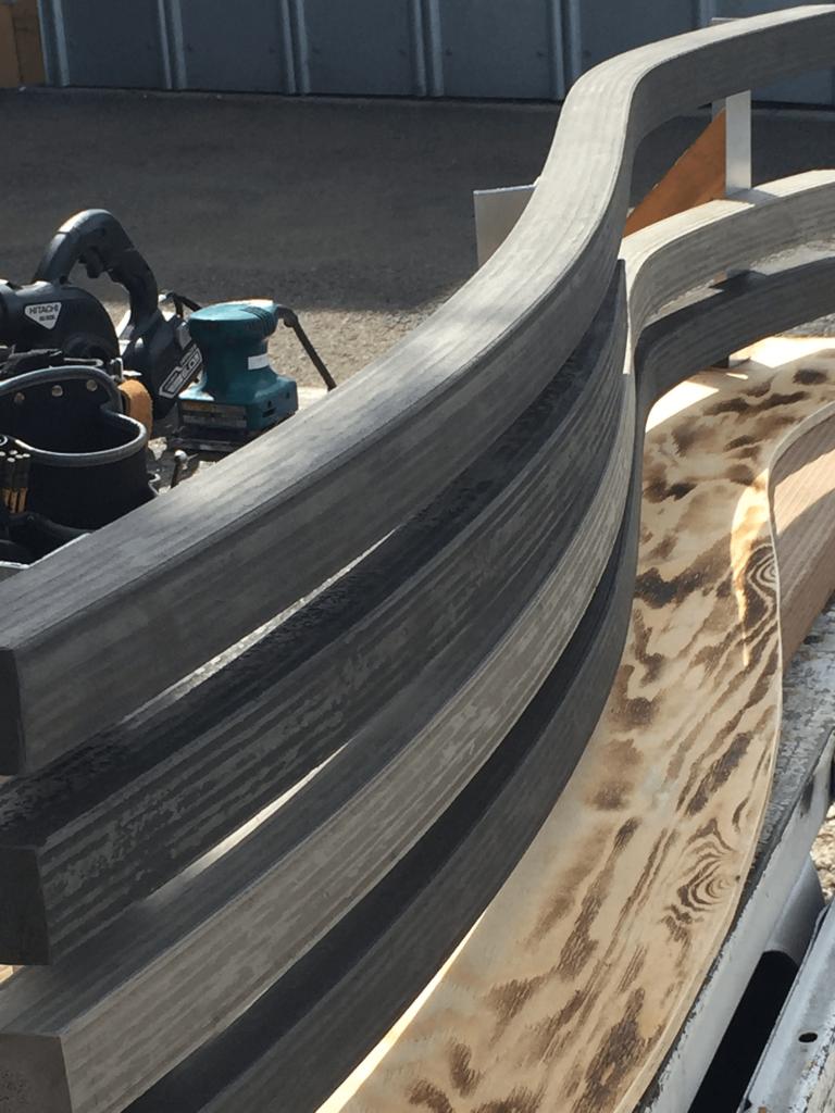 クラフトマンシップ ウッドデッキ施工例:よこ曲げデッキ材-NO.6 世界基準のウッドデッキ