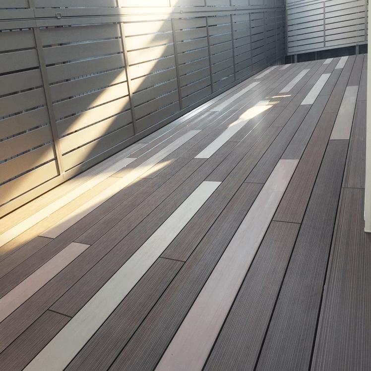 クラフトマンシップ ウッドデッキ施工例:A様邸ウッドデッキ 西東京市-NO.4 最新の機能を持ったウッドデッキをアンティーク調に