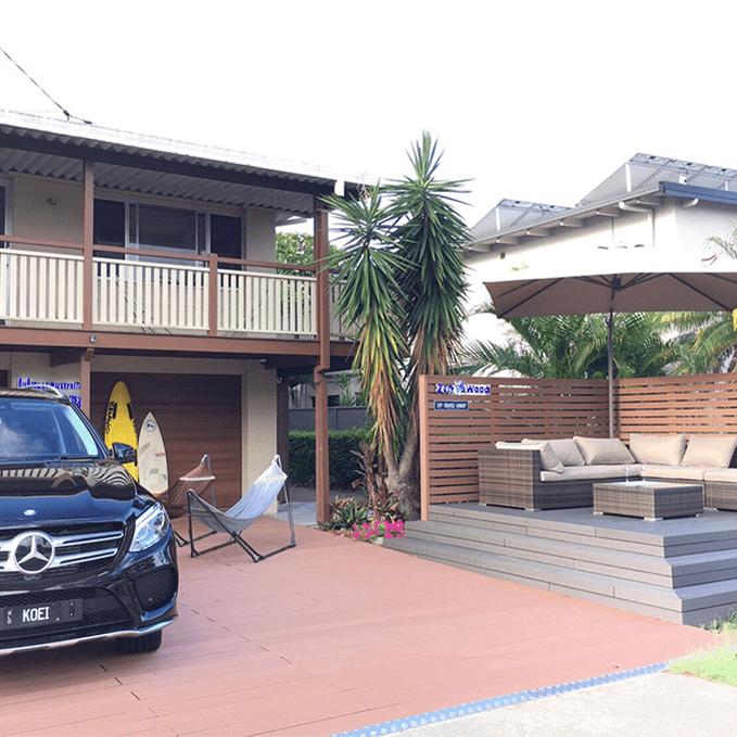 クラフトマンシップ ウッドデッキ施工例:オーストラリア_ゴールドコーストのウッドデッキ オーストラリア ゴールドコースト-NO.1 初めての海外進出