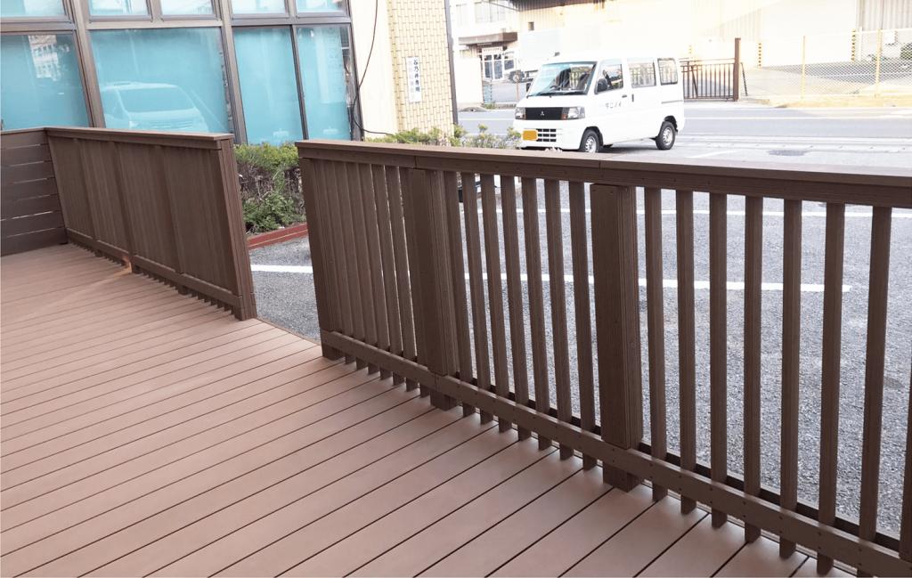 クラフトマンシップ ウッドデッキ施工例:保育園 千葉県-NO.5 子供が安心できて遊べる空間