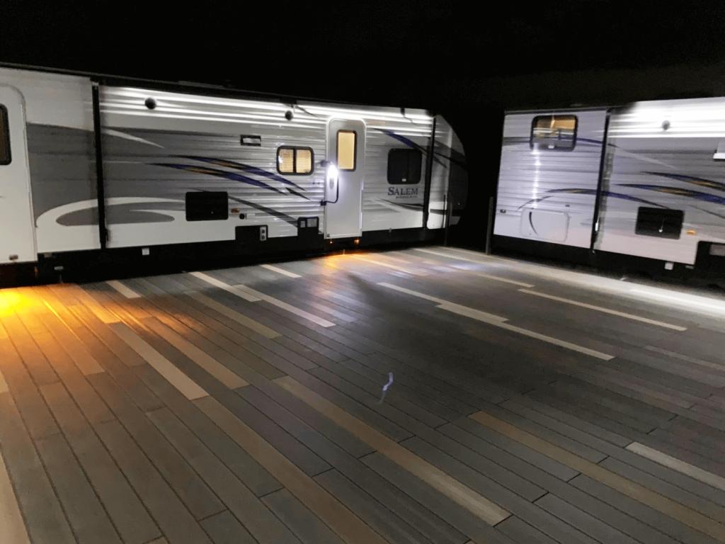 クラフトマンシップ ウッドデッキ施工例:福島ベース-NO.7 五感で感じる空間