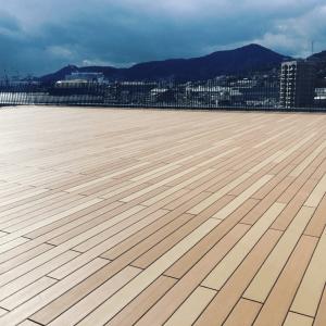 海の見える展望デッキ-長崎県某所_写真1