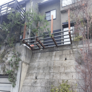 はね出しデッキ800-N様邸ウッドデッキ 神奈川県美しヶ丘 写真4