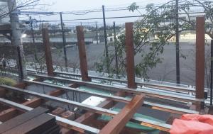 はね出しデッキ800-N様邸ウッドデッキ 神奈川県美しヶ丘 写真5