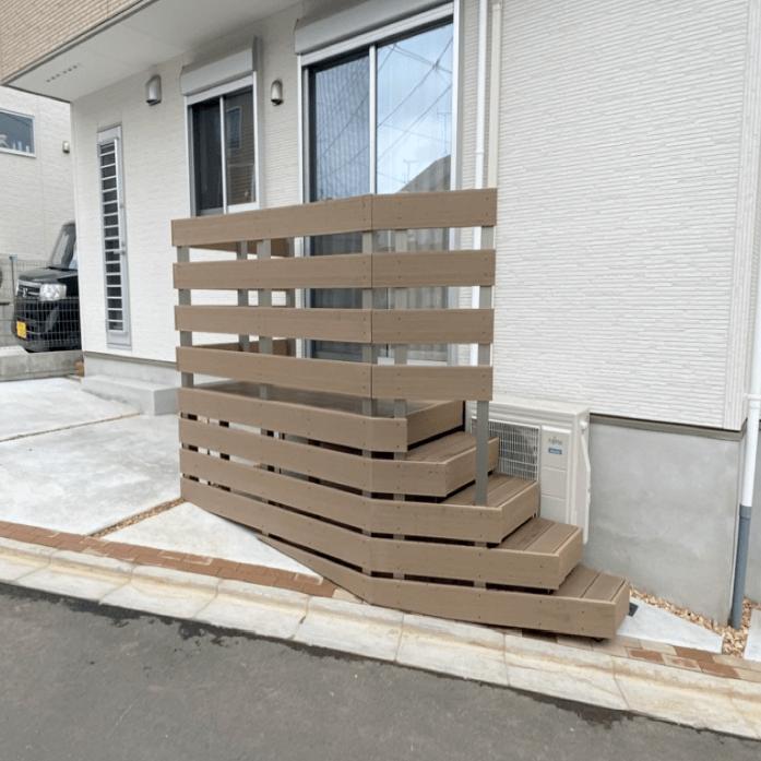 クラフトマンシップ ウッドデッキ施工例:H様邸 東京都東久留米市-NO.2 出入りが不便でもウッドデッキで解決