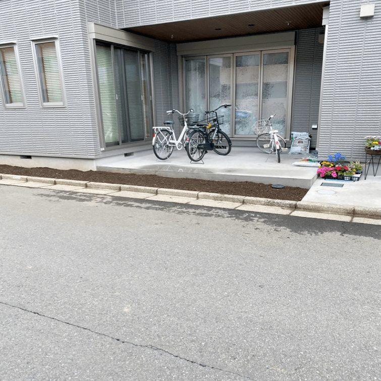 クラフトマンシップ ウッドデッキ施工例:S様邸 埼玉県所沢市-NO.1 ミッドエリアをウッドデッキ でフラット通行