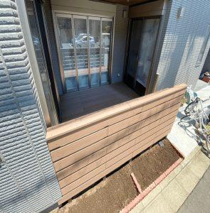 クラフトマンシップ ウッドデッキ施工例:S様邸 埼玉県-NO.2 ミッドエリアをウッドデッキ でフラット通行