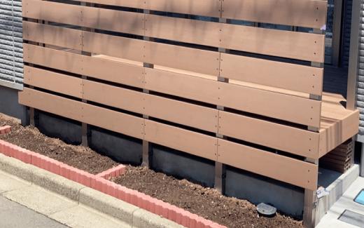 クラフトマンシップ ウッドデッキ施工例:S様邸 埼玉県-NO.5 ミッドエリアをウッドデッキ でフラット通行